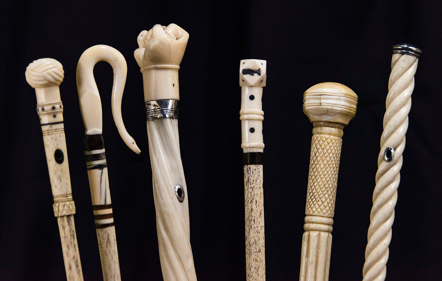 Selections From The Charles H. Hood Antique Cane Collection