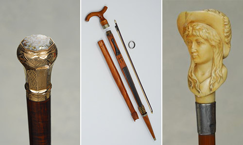 TRADEWINDS SPRING 2015 ANTIQUE CANE AUCTION